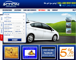Action Car Rental優惠券