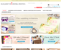 Elegant Wedding Invites優惠券