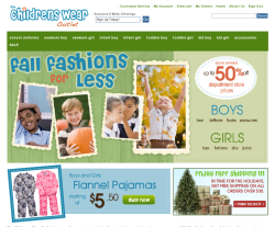 thechildrenswearoutlet.com
